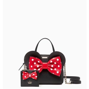 Kate Spade Minnie Mouse purse with wallet